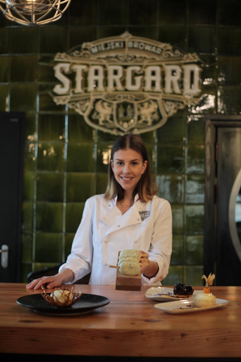 Pracownia deserów w Miejskim Browarze Stargard